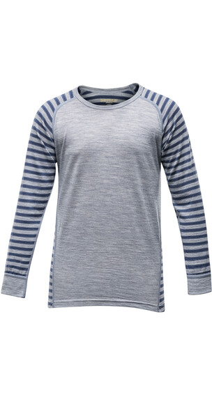 Devold Juniors Breeze Shirt Nightstripes